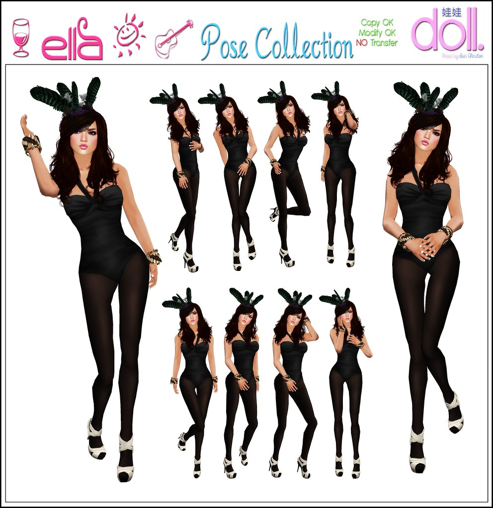 [doll.]™ Ella Pose Collection