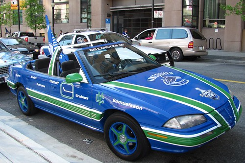 Hockey Night on Hamilton Street at CBC Vancouver: Best Ever Vancouver Canucks Fan Car