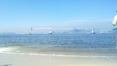 Acompanhando a Redbull Air Race no Rio de Janeiro