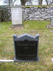 (storuman) Tags: gotland grav rune kyrkogård levide