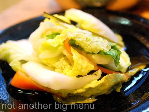 Koya - Tsukemono (Homemade pickle) £2