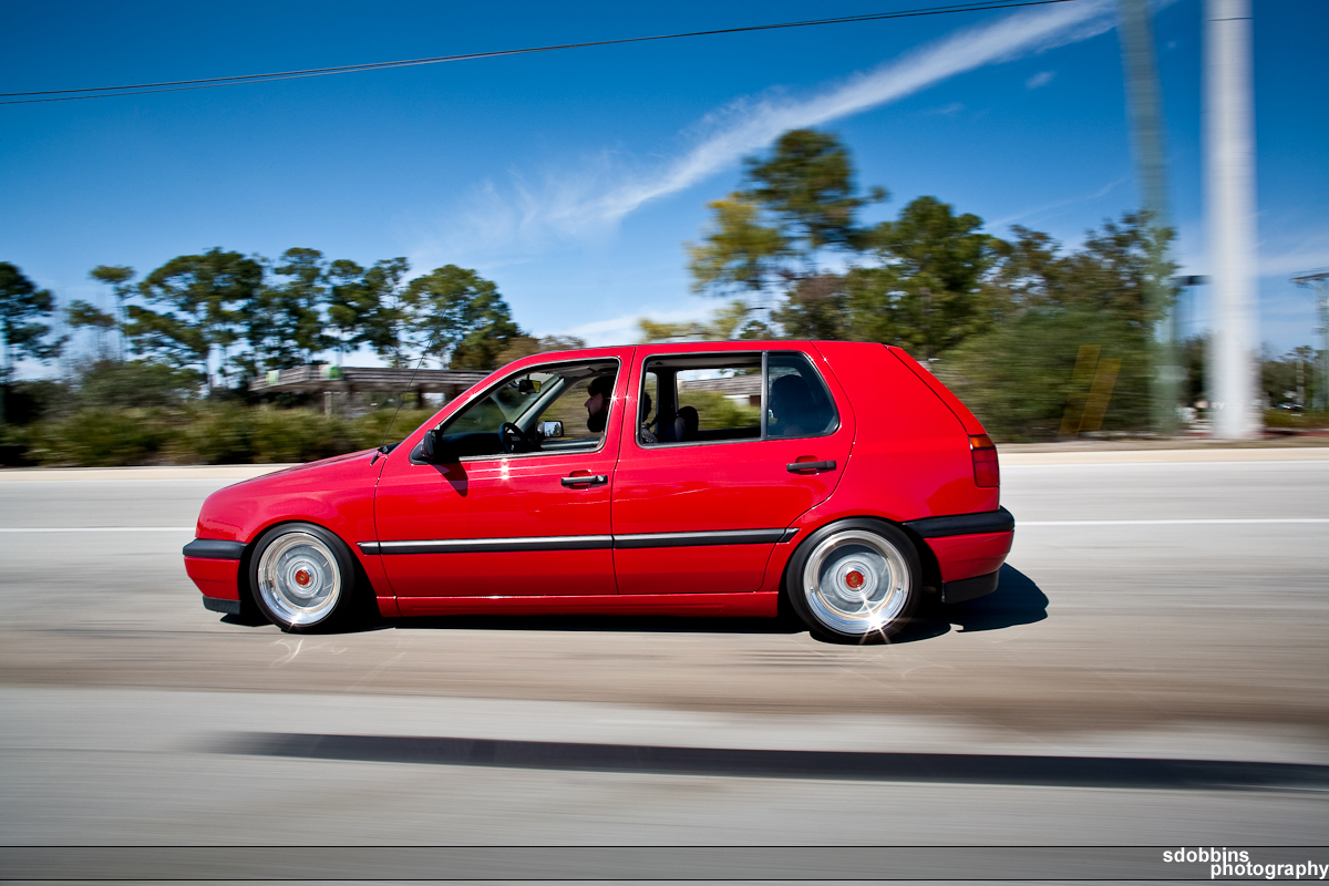 JLo's Mk3 VW Golf on BBS RM's