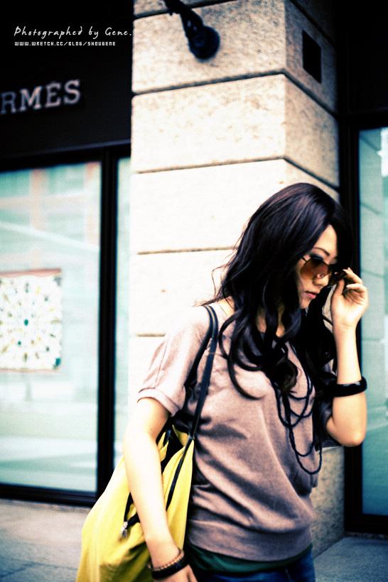 信義商圈街拍.Rowena
