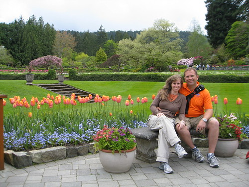 Butchart Gardens in Victoria, BC