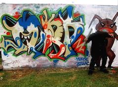 HARRY, THE RIPPER! (LA PEOR BASURA DEL MUNDO.) Tags: street people urban streetart peru colors wall graffiti calle lima tag letters personas urbanart vandal urbano graff ank letras artecallejero arteurbano niñodemonio