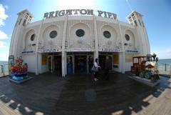 Brighton Pier (McTumshie) Tags: pier brighton fisheye brightonpier brightondayout