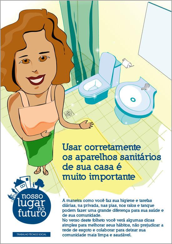 ilustração higiene