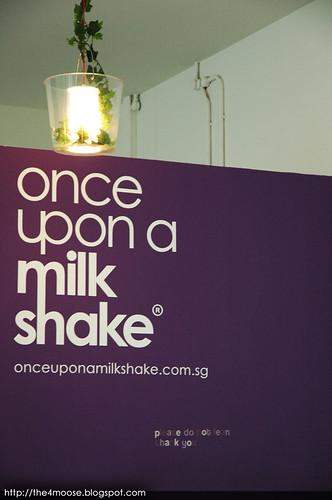 Once Upon a Milkshake - Signboard