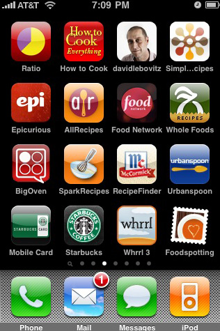 iphone cooking apps