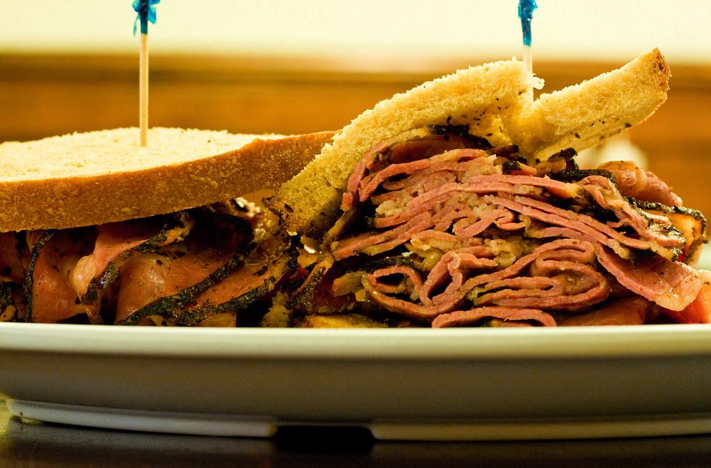 Pastrami sandwich, Eisenberg's