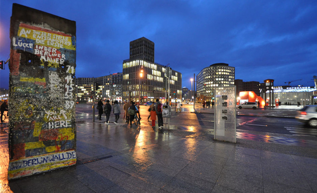 柏林墙倒塌照片24