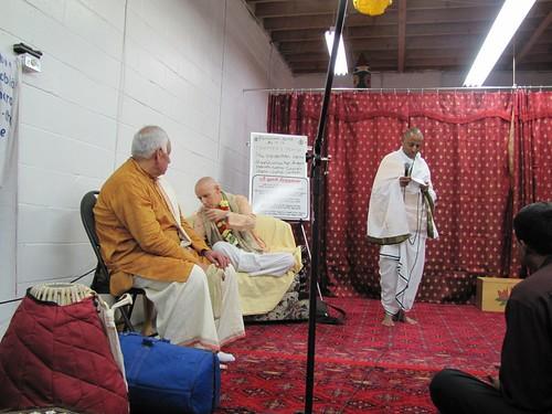Sankarsana Prabhu visit ISKCON Scarborough -0003 por ISKCON desire  tree.