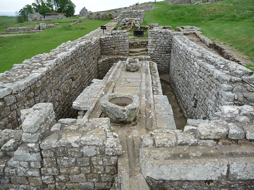 Latrines at Housesteads