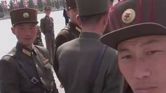 Surrounded by North Korean soldiers! Pyongyang North Korea (Eric Lafforgue) Tags: film soldier army video war asia military korea soldiers asie hd tension coree guerre northkorea footage pyongyang dprk coreadelnorte nordkorea lafforgue    coreadelnord   insidenorthkorea  rpdc  northkoreanarmy kimjongun coreiadonorte