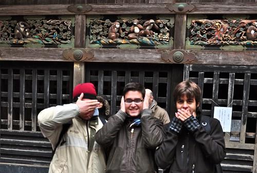 Los tres monos de la sabiduría