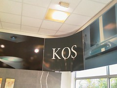 Branded in-store signage using X-Board