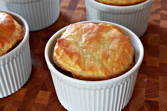 Shrimp & Andouille Pot Pie