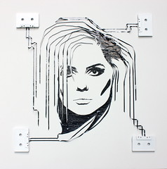 Ghost in the Machine- Debbie Harry of Blondie (iri5) Tags: art nirvana ghost harry machine tape debbie blondie cassette nevermind recycyled