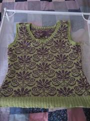Jacquard Vest (durandir) Tags: sweaters knit vests jacquardvest