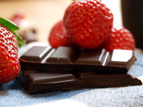 Erdbeer und Schokolade