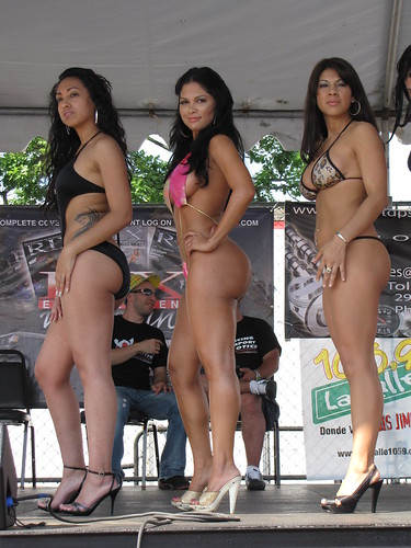 Bikini contest photos latinas