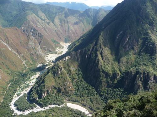 view from Inca Bridge