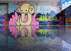Swampy, Swornes (everydaydude) Tags: california graffiti sm um eastbay swampy sworn tbi swampdonkey swornes illegaltrouble
