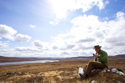 Phile Turner — Tweeting Across Scotland