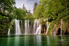 Paradise Found (andywon) Tags: travel trees vacation green nature water beauty reflections nationalpark spring paradise croatia waterfalls vegetation streams plitvice plitvicelakes plitvicerseen explored plitvickajezera