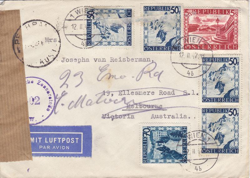 Zensurierte Bedarfspost nach Australien 4655103825_5c3eb6f283_b