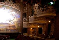 Winter Theatre Stage Right (Dreamkatch) Tags: cinema toronto ontario canon theatre balcony stage canon20d seats balconies seating 1813 elgintheatre moviehouse orchestrapit wintertheatre