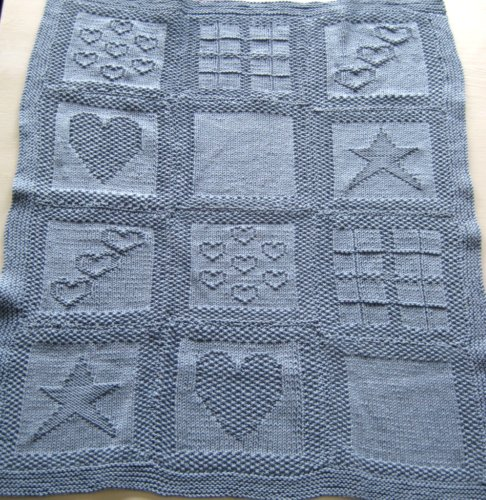 Sweater Patterns Knitting Free : Cot Blanket Collaboration   Twisted Knitter