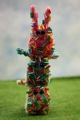 Sugar High (Squirrel Junkie) Tags: bunny bunnies handmade knit donut knitted bun nugget sprinkle yummmmy squirreljunkie bunnynugget