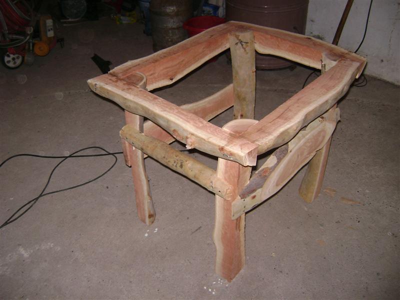 Como hacer una mesa de jardin rustica con 4 troncos hazlo tu mismo taringa Como hacer una mesa de madera rustica