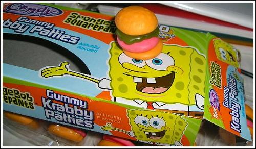 sponge bob candy