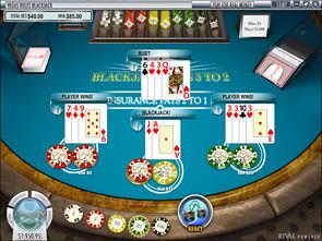 Multi-Hand Blackjack Vegas Rules