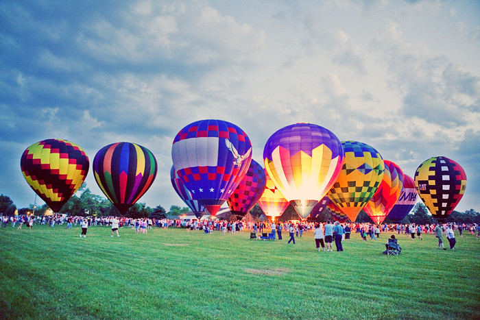 Frankenmuth Balloon Launch