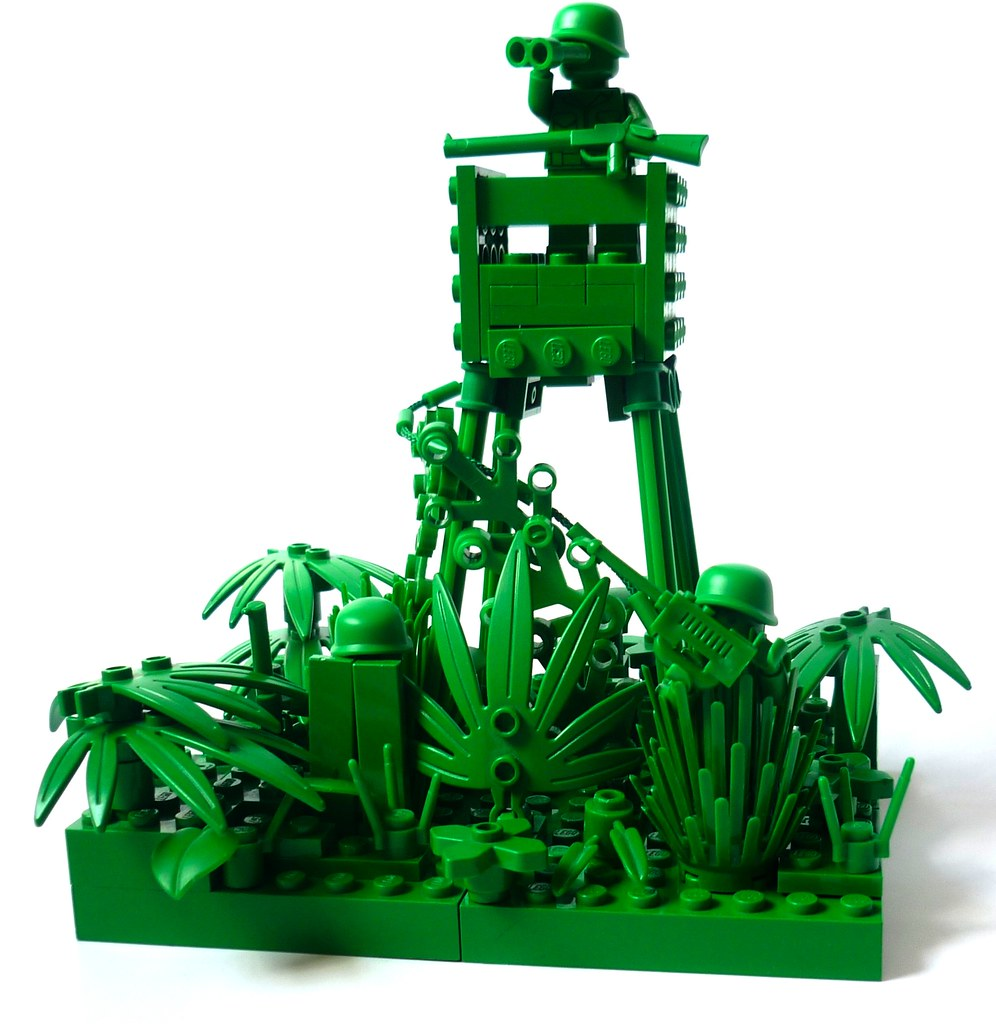 The Green Army Watchtower