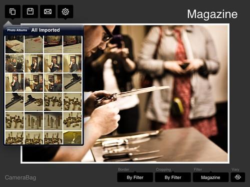CameraBag iPad