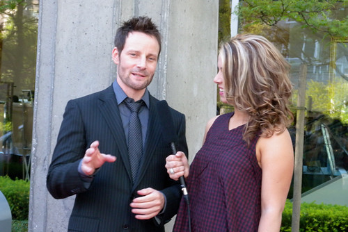 Ryan Robbins at the Leo Awards