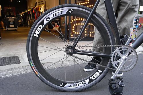 ISSE's bike