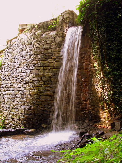 Waterwheel Spillway at Falls Mill