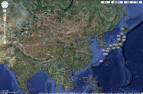 Google Map, China