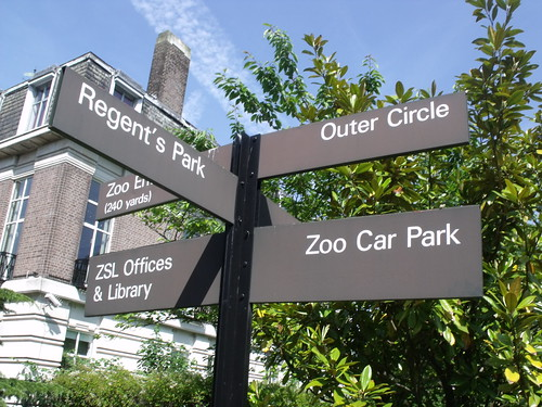 London Zoo direction