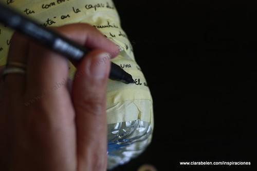Escribir citas y frases bonitas para adornar el farol