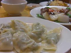 中華食堂一楽の水餃子