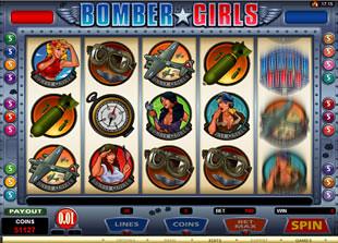 Bomber Girls slot game online review