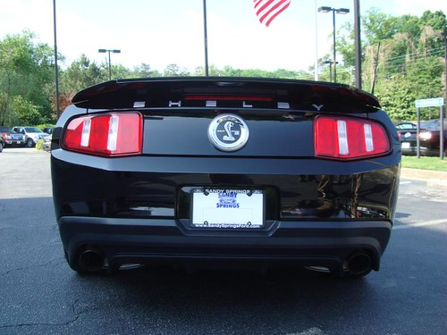 2011 Mustang GT500 Shelby.