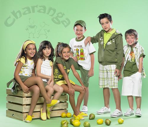Moda infantil verano 2010, ropa para niños y niñas de Charanga