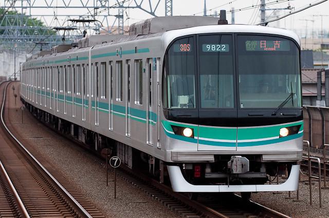 東京メトロ南北線9000系5次車 9122F